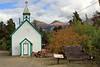 Carcross St. Saviour's Church in Yukon Territory, Canada