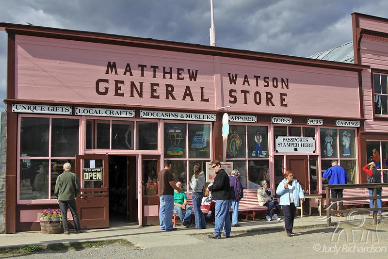 General Store in Carcross, Yukon Territory, Canada