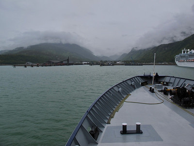 Alaska Ferry to Skagway