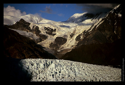I20 Russell Glacier Under Evening Light
