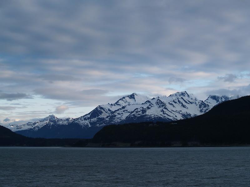 Approach to Lutak Inlet near Haines, Alaska.