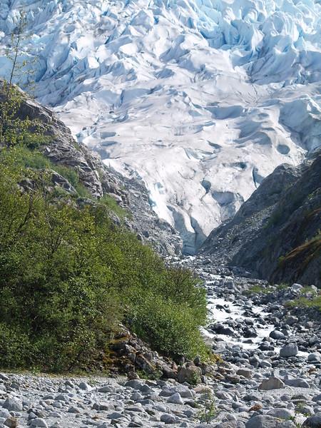 Herbert Glacier near Juneau, Alaska