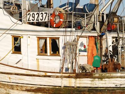 Fishing boat at Crescent Harbor; Sitka, Alaska.