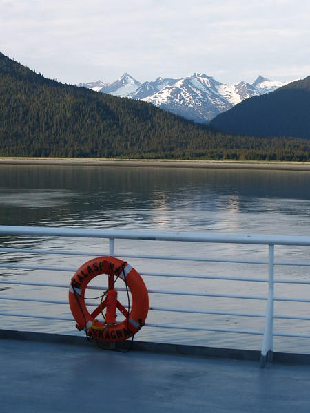Near Haines, Alaska on the M/V Malaspina