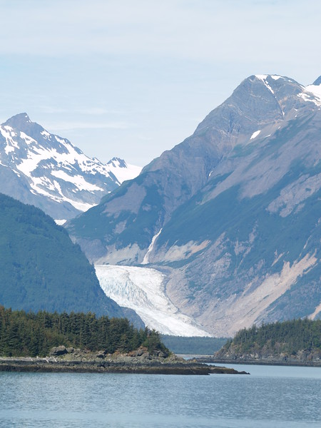 Davidson Glacier - George Davidson, the U.S. surveyor sent out by Congress in 1867 to survey the new purchase, named the glacier after himself.