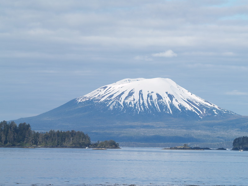 Mt. Edgecumbe on Kruzof Island near Sitka, Alaska