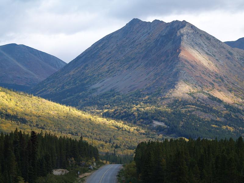 Klondike Highway between Carcross, Yukon Territory and Skagway, Alaska