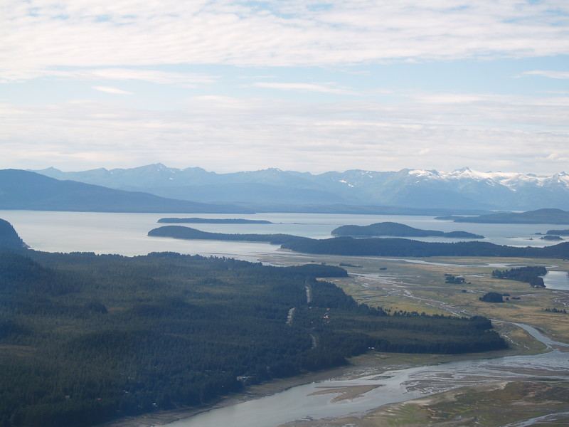 Looking northwest toward the Chilkoot Range, Favorite Channel.