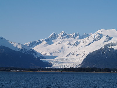 Mendenhall Glacier from North Douglas Island