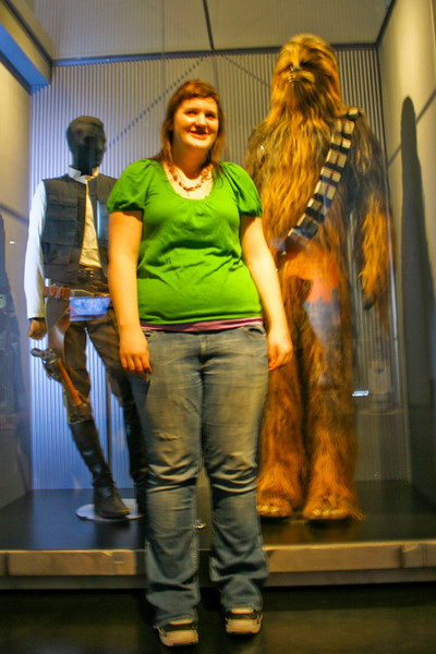 Sara and her friend Chewie