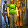 Sara and her friend Chewie