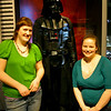Have to pose with Darth