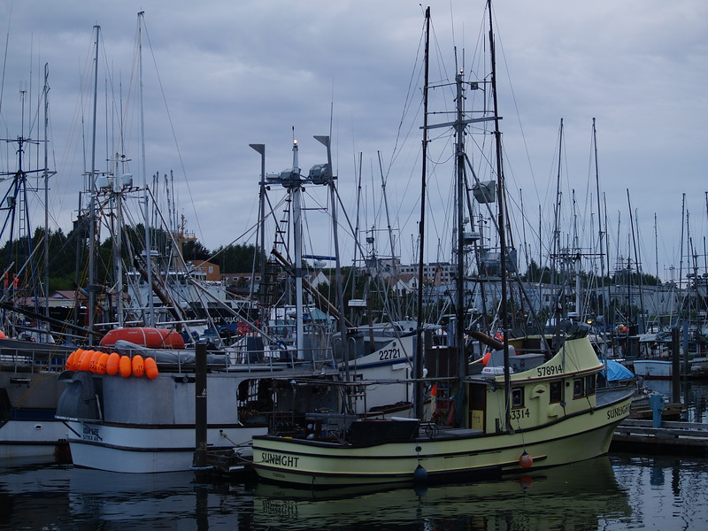 fishing boats in the harbor - Sitka, Alaska
