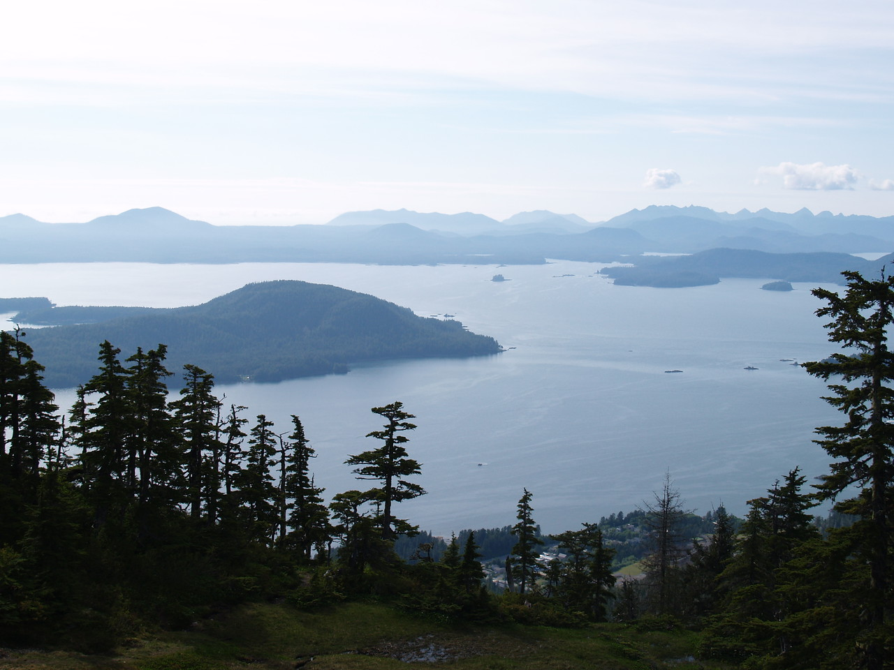 Another view from Harbor Mountain.