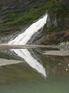 Nugget Falls at Mendenhall Glacier (2006).