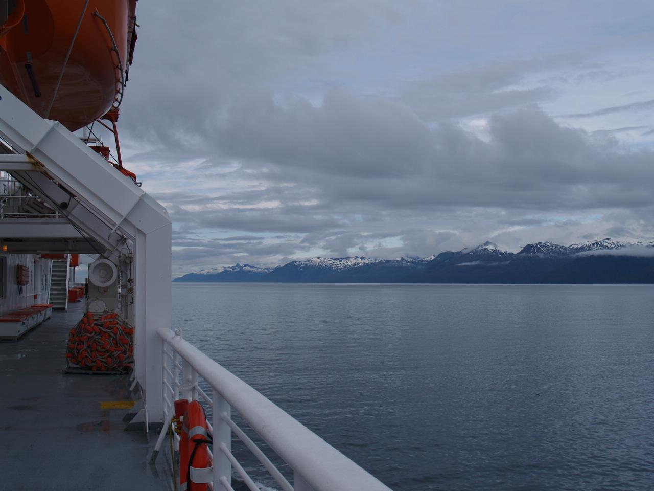 The MV Matanuska in Chatham Strait on the way to Petersburg.