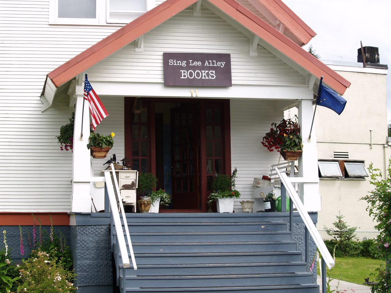 Sing Lee Alley books in Petersburg, Alaska - great book store! (2006)