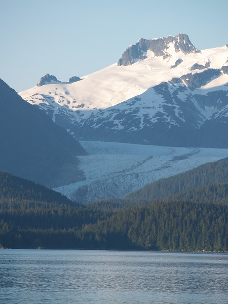 One of the glaciers along Lynn Canal (Taku Glacier?)