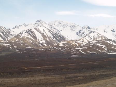 Polychrome Pass in Denali