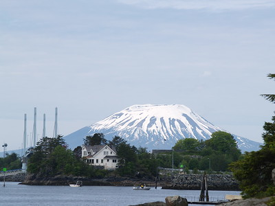 Mt. Edgecumbe - extinct cone volcano (2007).