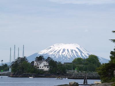 Mt. Edgecumbe - extinct cone volcano (2007).