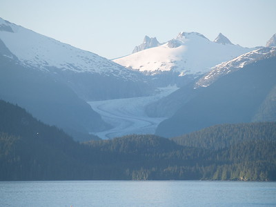 One of the glaciers in the Juneau Icefield (2006).