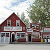 The town of Talkeetna is 120 miles from Denali.