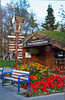 The Anchorage Visitors Center in Anchorage, Alaska, USA.