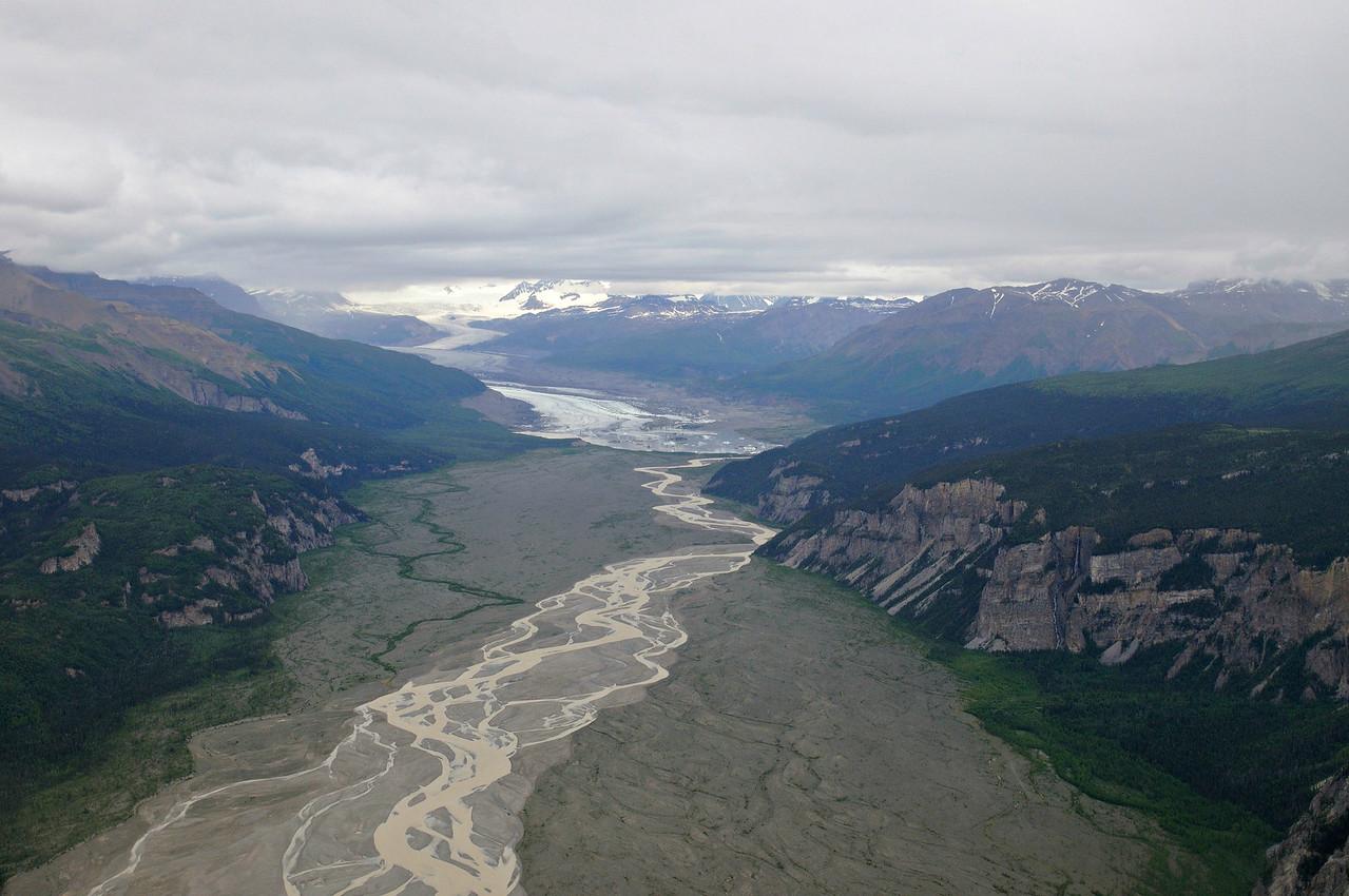 Flight Seeing in Wrangell/St. Elias National Park