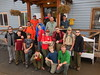 Troop 773 at the Backpacker Inn, Anchorage.