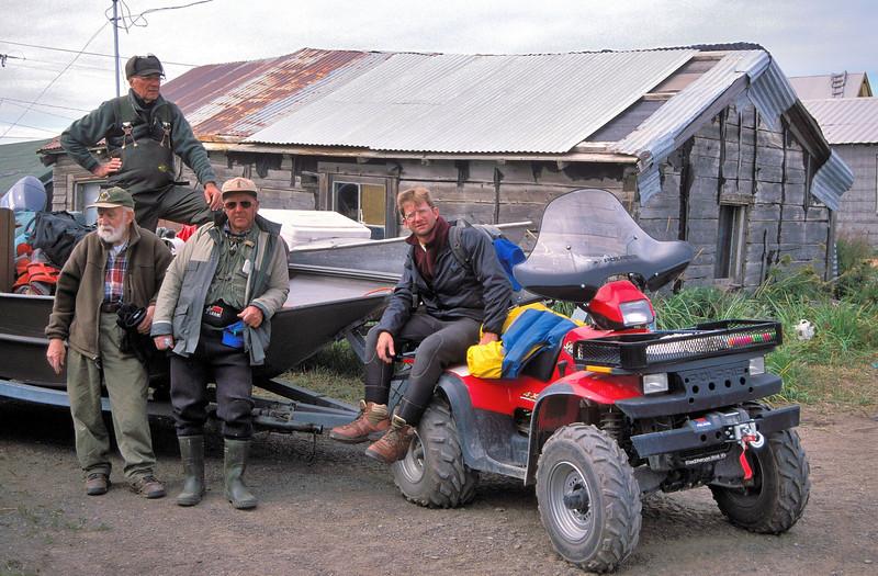 AKS00-196a Unalakleet village