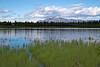 Mountains and Lake on way to Valdez