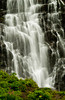 A waterfall along the Richardson Highway near Valdez, Alaska, USA, america.