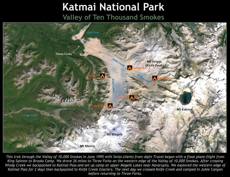 Title Slide 1 - 1995 Katmai Trek