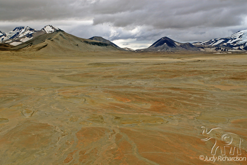 Below the clouds in the Valley of Ten Thousand Smokes