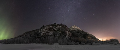 3 Lights of Pioneer Peak