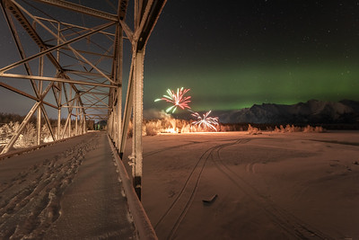 Friday Night on the Knik River