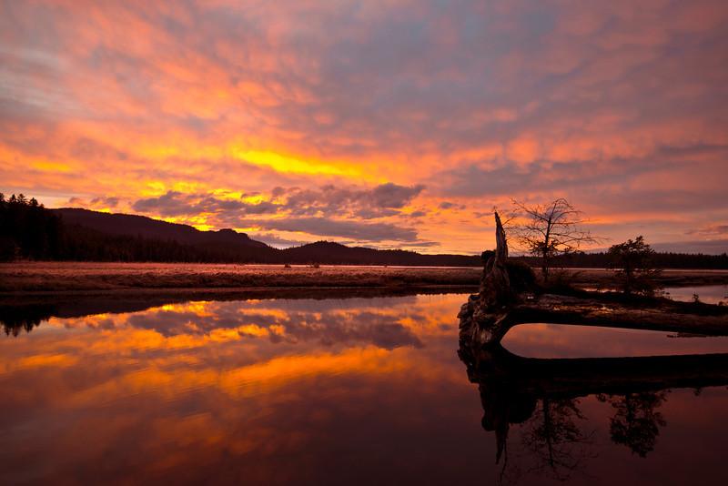 Kadake Bay Sunset April 2014