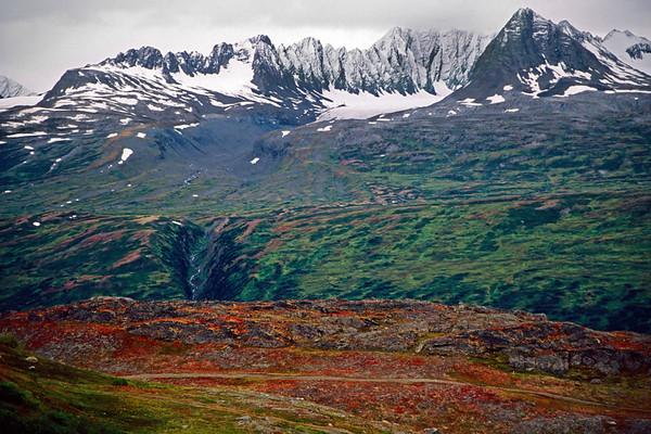 Mountains near Valdez, Alaska