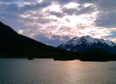 Sunset sky, Alaska
