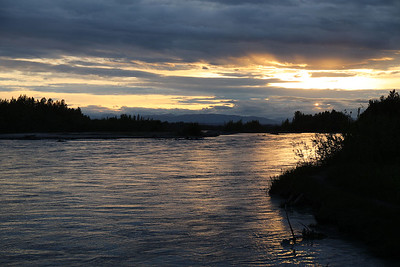 Talkeetna sunset