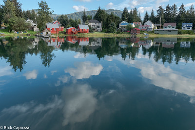 Harbor in Petersburg, Alaska, fishing village.