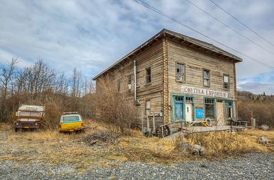 Chitina Emporium, Chitina, Alaska, USA