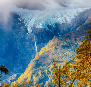 Rainbow Glacier Autumn