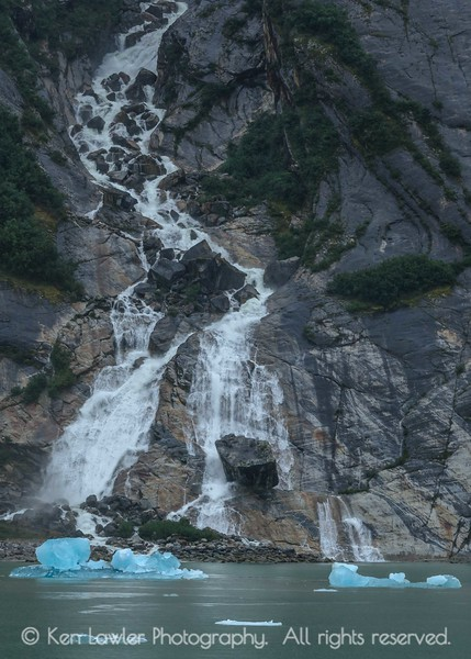 Rock falls and ice I