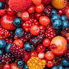 Jumble of Alaska Berries