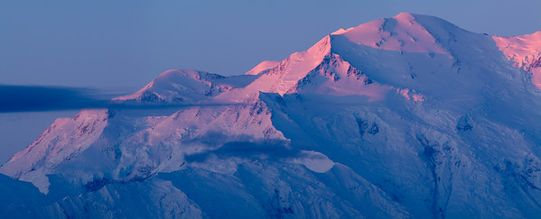 Mt McKinley sunrise, Denali National Park