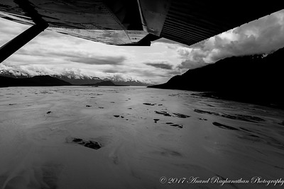 Low tide on Chilkat River