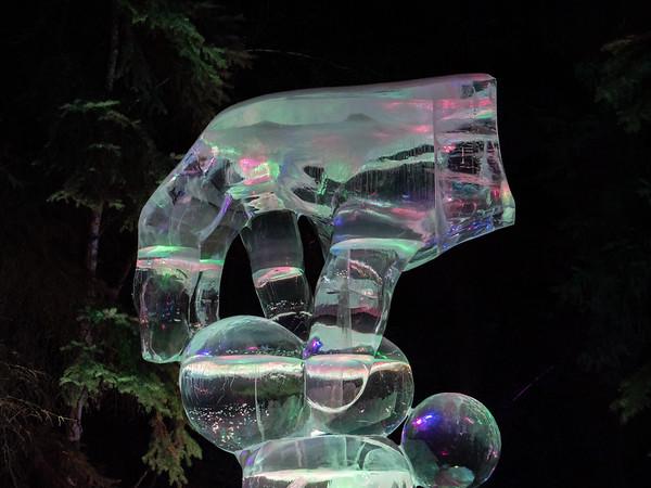 Ice hand