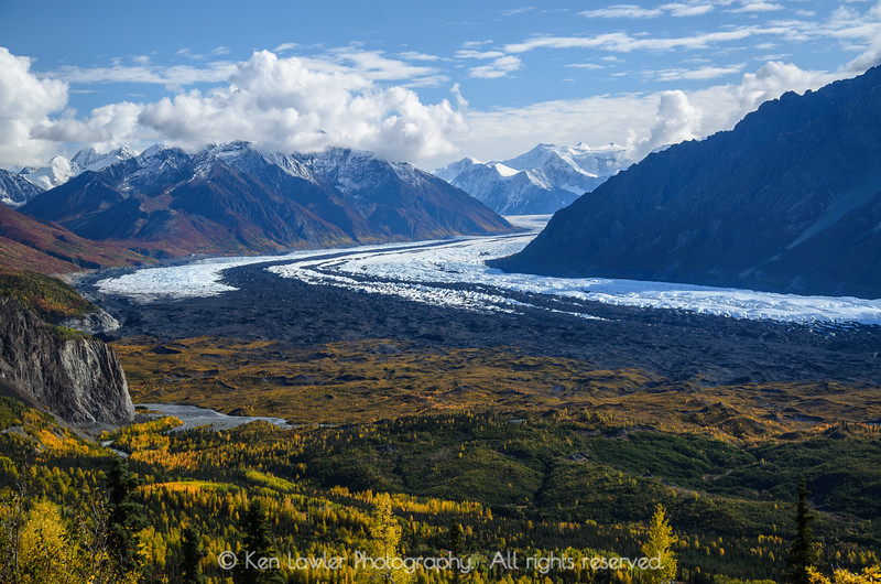 Matanuska Glacier overview